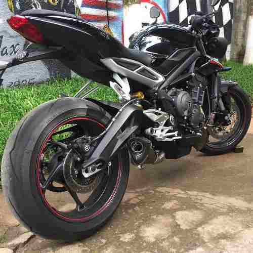 Ponteira Escape H720 Gp Carbon Street Triple 765 Rs/s
