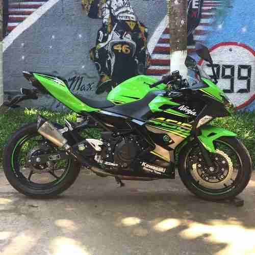 Ponteira Esportiva Scorpion Gp720 Inox - Ninja 400