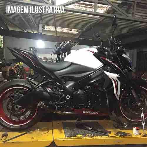 Ponteira Escape Full Gp Tech Carbono - Gsxs 1000