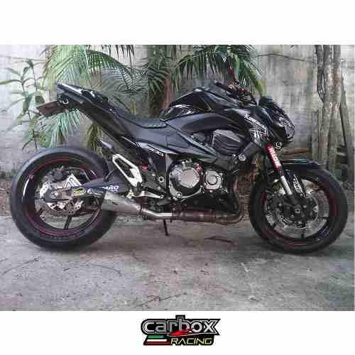 Ponteira Esportiva Scorpion Gp720 Inox Kawasaki Z800 Carbox