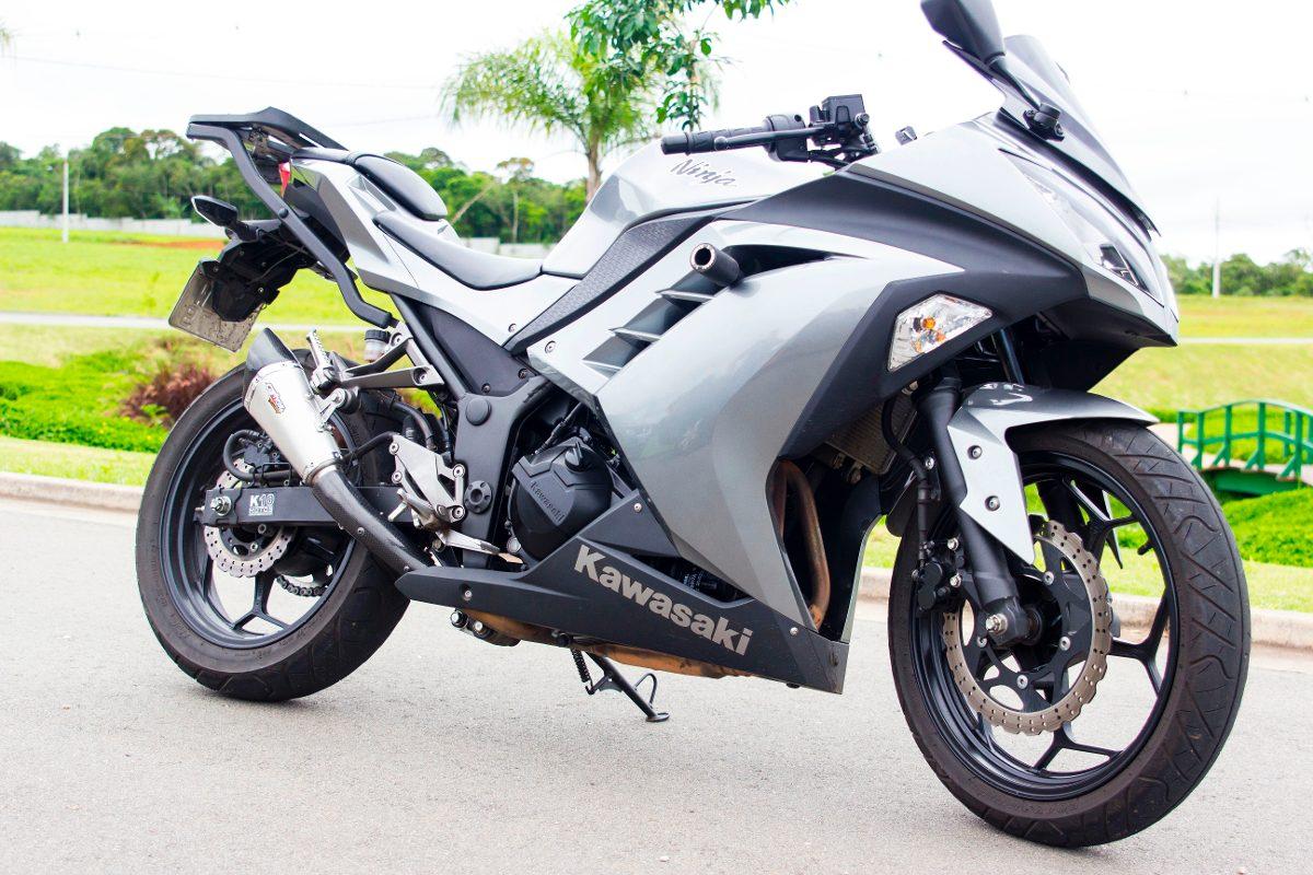 Ponteira Esportiva Scorpion Gp 720 Inox Ninja 300 Todas