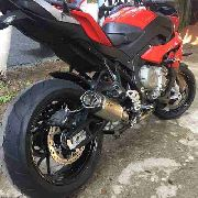 Ponteira Escape Full 4x2x1 Shark S920 Inox - Bmw S1000xr