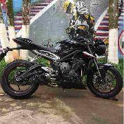 Ponteira Escape H720 Gp Carbon Street Triple 765 Rs/s