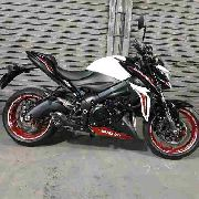 Ponteira Escape Full No Muffler Carbon - Gsxs 1000