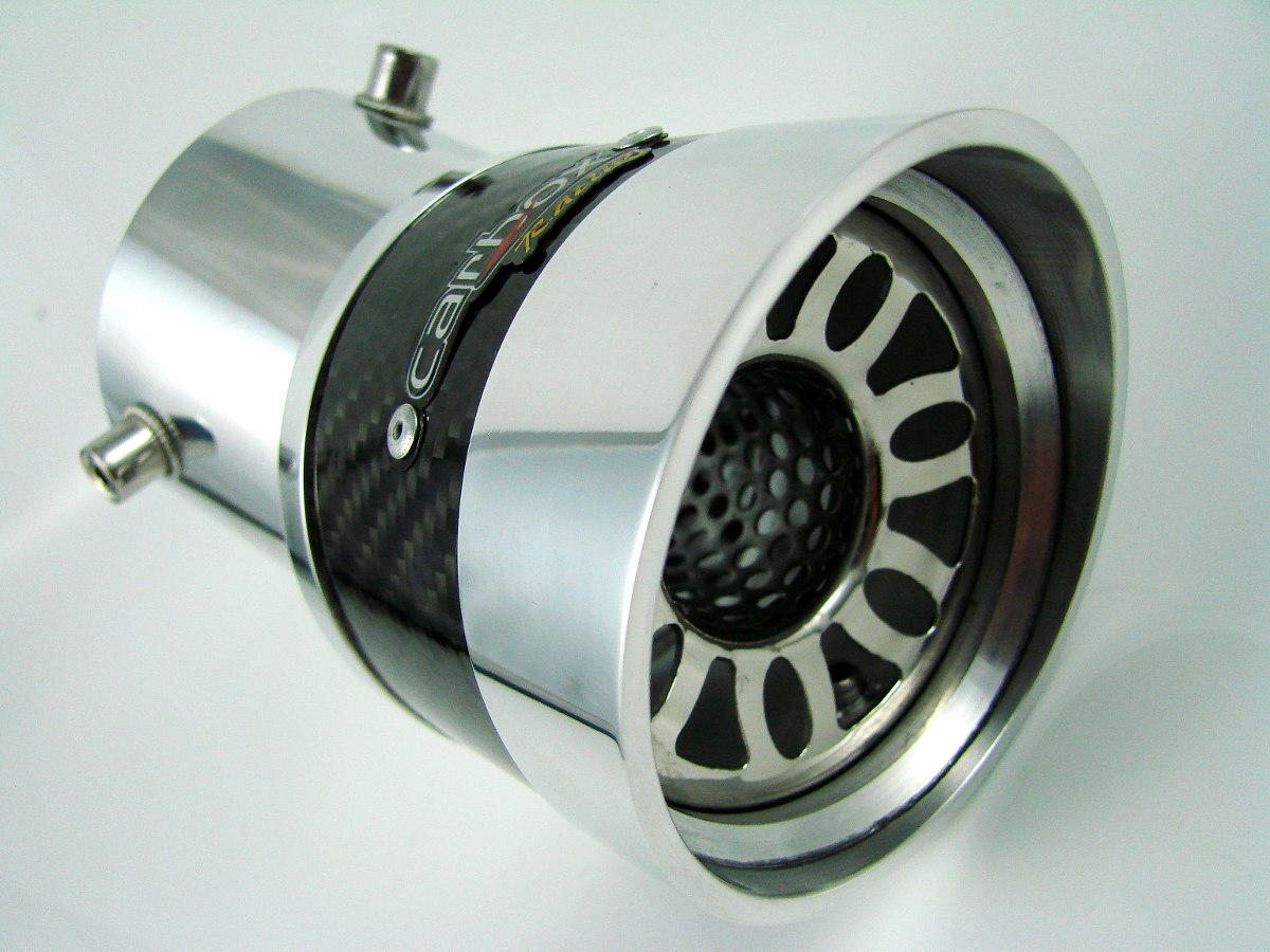 Ponteira Extreme Turbo Angular De Carbono Onix LT/LTZ/ JOY