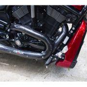 Protetor de Escapamento em Fibra de Carbono p/ Harley Davidson V-Rod Night