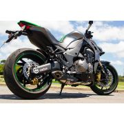 Escapamento Full 4x2x1 No Muffler Z1000 2010 A 2015