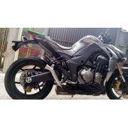 Ponteira Dupla Pipe S Inox Kawasaki Z1000 10 A 15