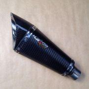 Ponteira Escapamento Scorpion Gp720 Carbon - Bandit 650/1250