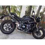 Ponteira Dupla Esportiva Scorpion GP 720 Carbon  Triumph Speed Triple 1050