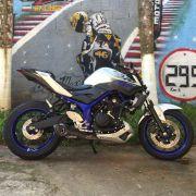 Ponteira No Muffler Carbon - Yamaha MT-03