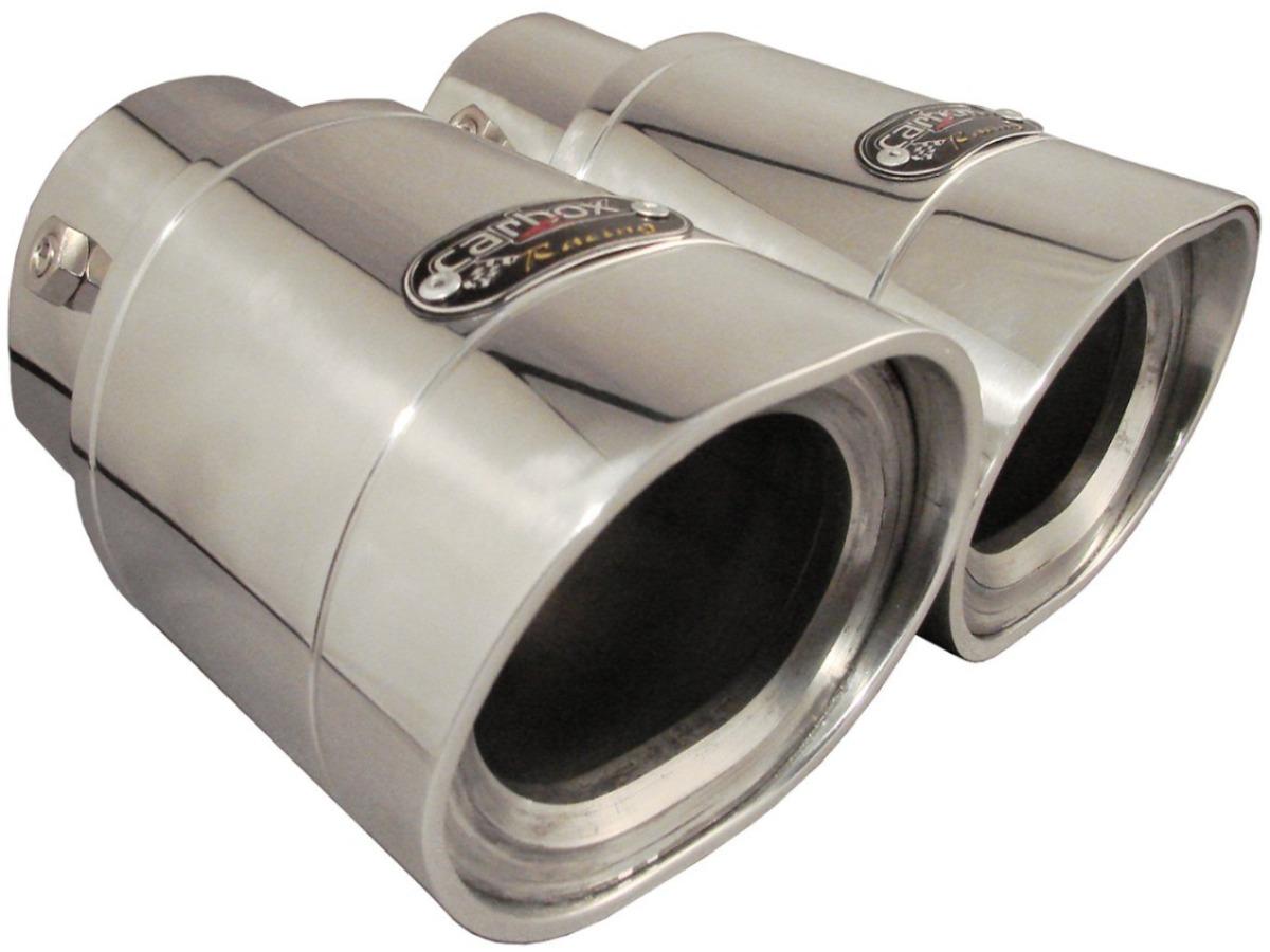 Ponteira Dupla Elite Alumínio p/ Ford Fusion Todos
