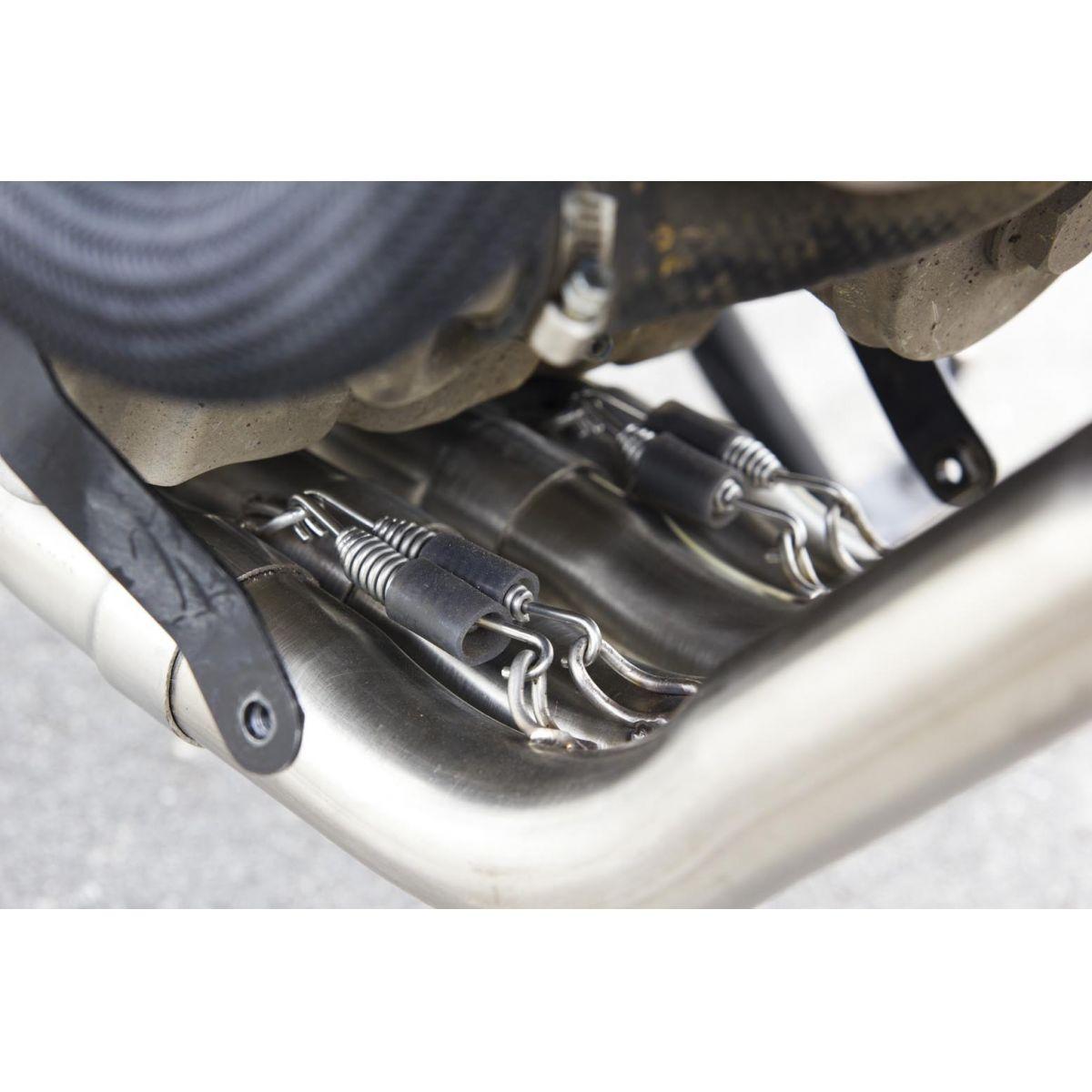 Ponteira Esportiva Shark Carbon S620 p/ Yamaha XJ6 Full 4x2x1