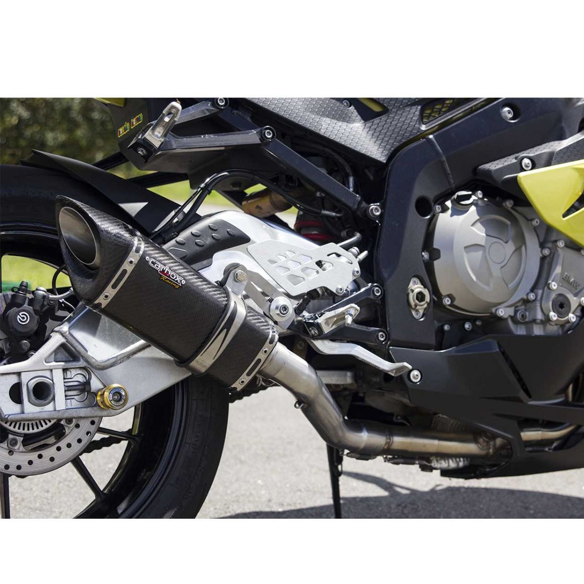 Ponteira Escape Full 4x2x1 Scorpion S725 Carbon- Bmw S1000rr
