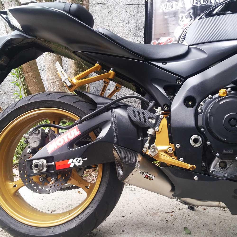 Ponteira Scorpion GP720 Inox p/ Suzuki SRAD GSXR750