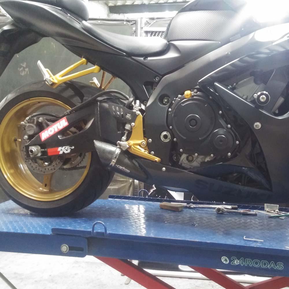Ponteira Scorpion GP720 Carbon p/ Suzuki SRAD GSXR750