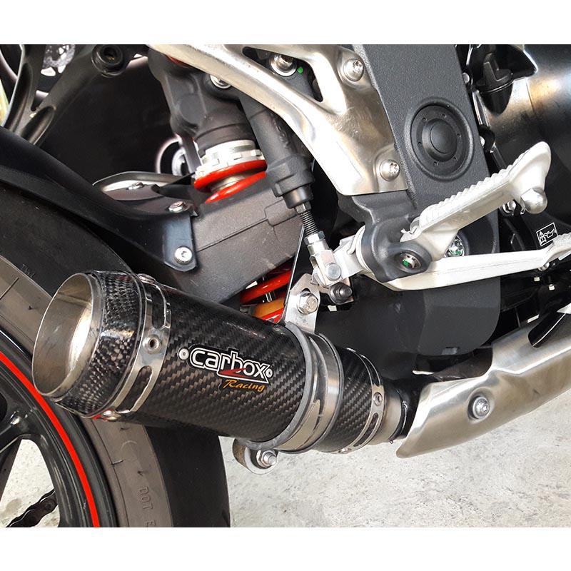 Ponteira Esportiva GP TECH Carbon  Triumph Speed Triple 1050