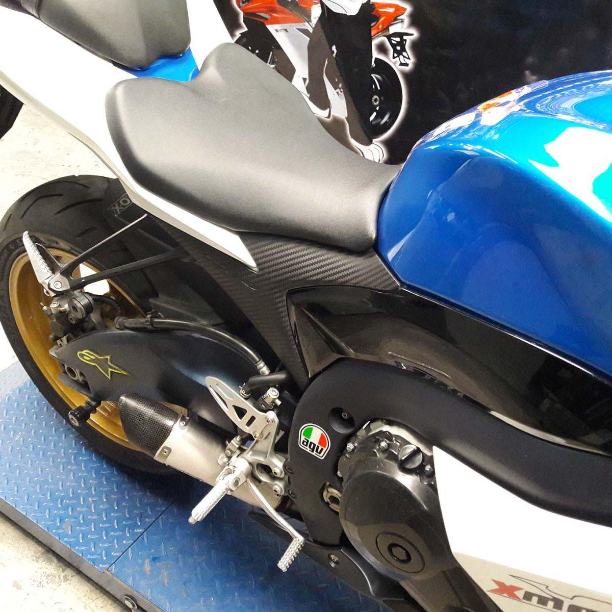 Ponteira Scorpion GP720 Inox p/ Suzuki SRAD GSXR 1000 11 a 13