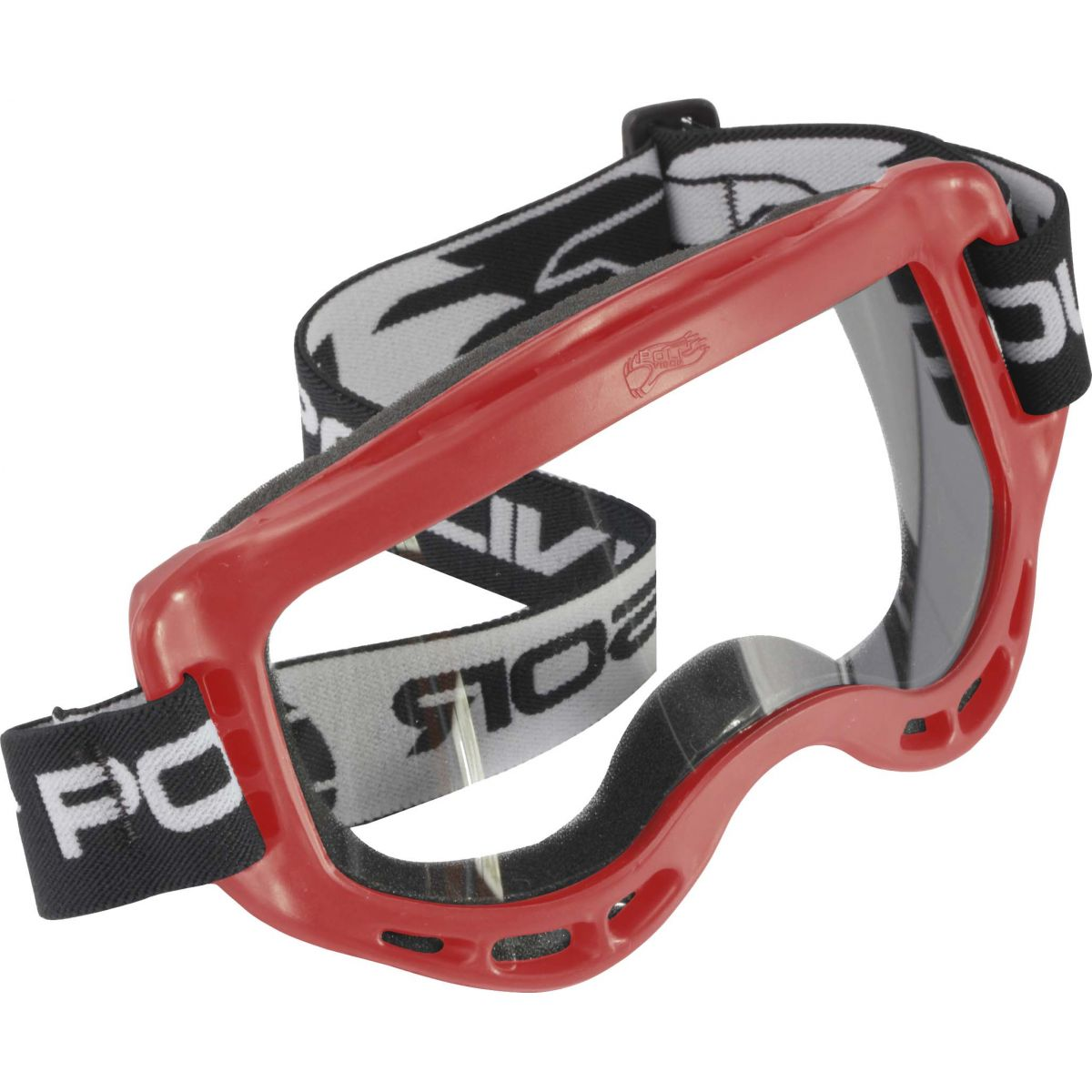 Óculos Motocross / Cross Polivisor - Lente Transparente