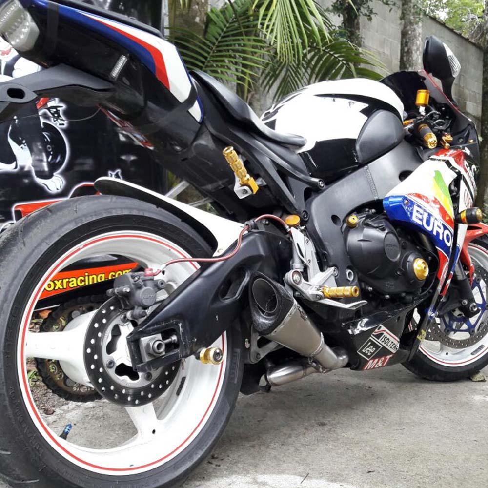 Ponteira Escapamento Scorpion GP720 Inox p/ CBR1000 RR 2008 em diante