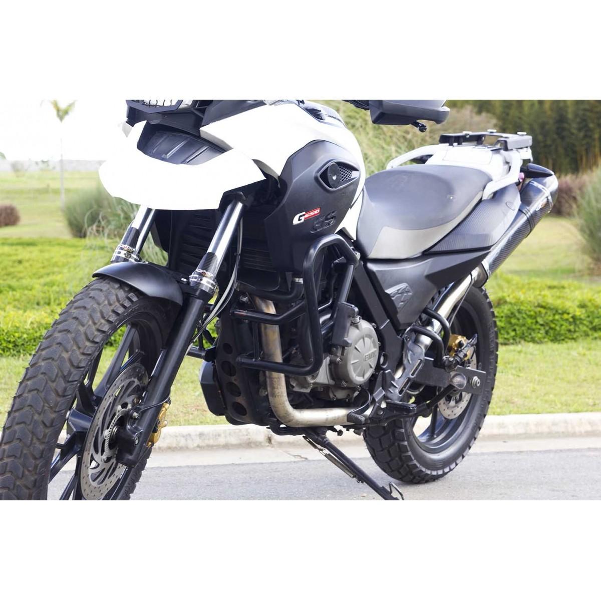 Ponteira Esportiva Shark Carbon p/ BMW GS 650