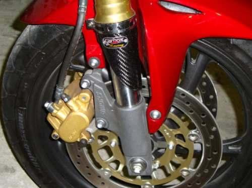 Protetor De Bengala Fibra De Carbono Hornet Acima de 2008