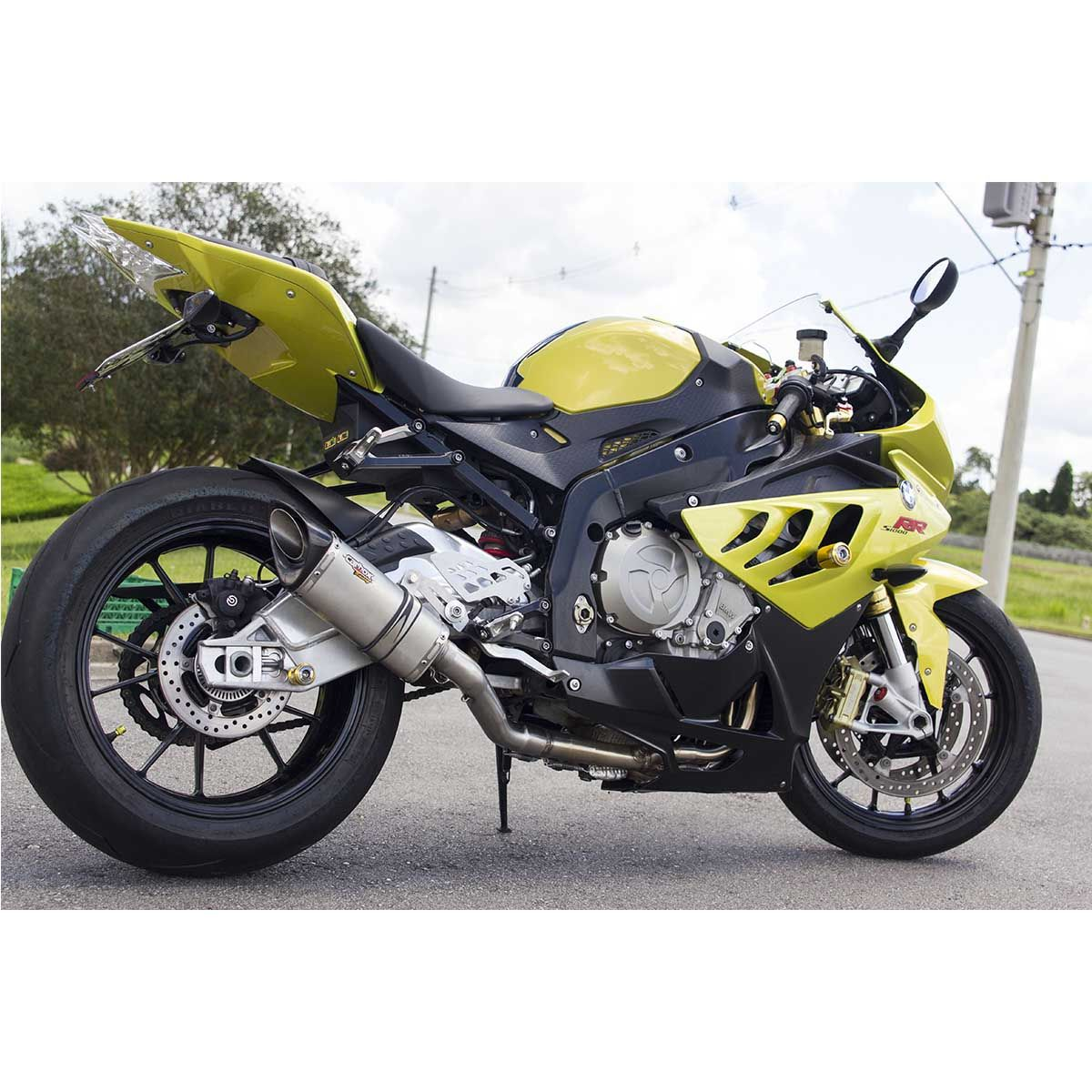 Ponteira Escape Full 4x2x1 Scorpion S725 Inox - Bmw S1000rr