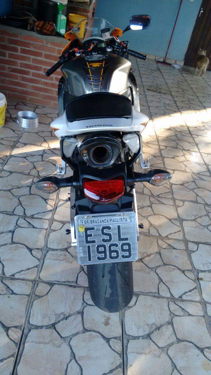 Ponteira Escapamento Shark Carbon Honda Cbr 600 Rr 07 A 12
