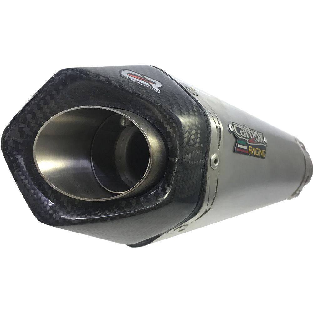 Ponteira Escapamento Shark Gp920 Aço Inox - Bandit 650/1250