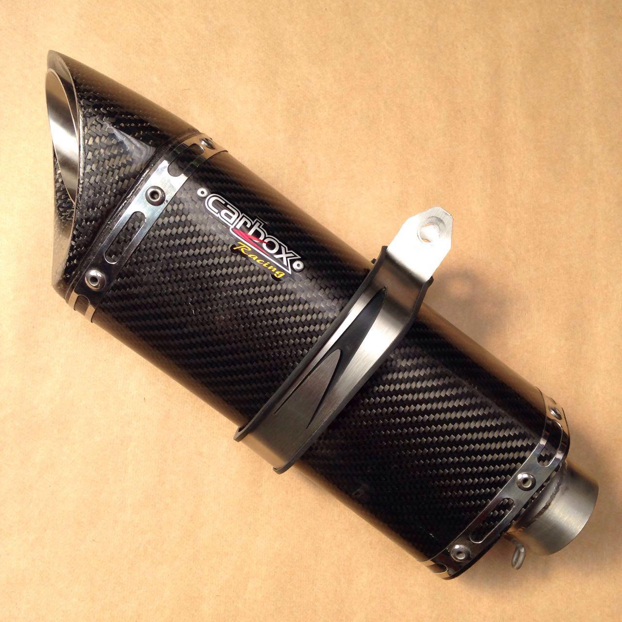 Ponteira Escape Scorpion S725 Carbon Full 4x2x1 - Hornet 600