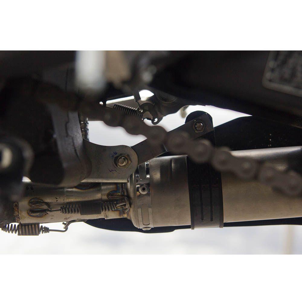 Ponteira Escape H725 Carbon Full 4x2x1 - Hornet 600