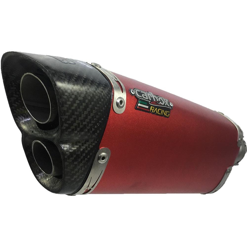 Ponteira Escape V8 Red Aluminium Full - CRF 230