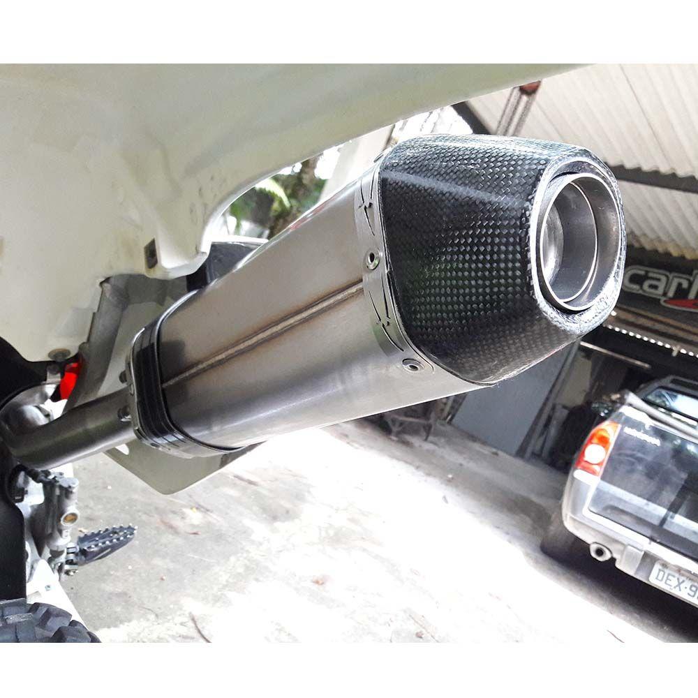 Ponteira esportiva Pro-X  Racing Inox CRF450X