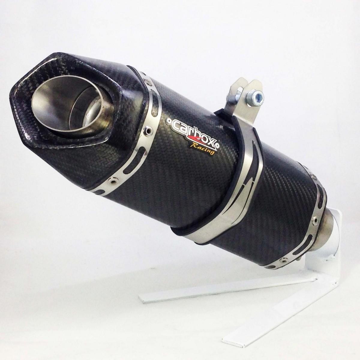 Ponteira Esportiva Shark S920 Carbon p/ Suzuki GSR 750