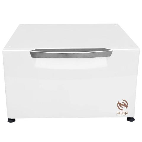 Pedestal Organizador Branco Lava e Seca LG de 8,5Kg Amiga