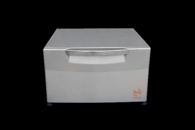 Pedestal Amiga Cor Prata Compatível com Lava e Seca ELECTROLUX de 9Kg Modelo LSI09
