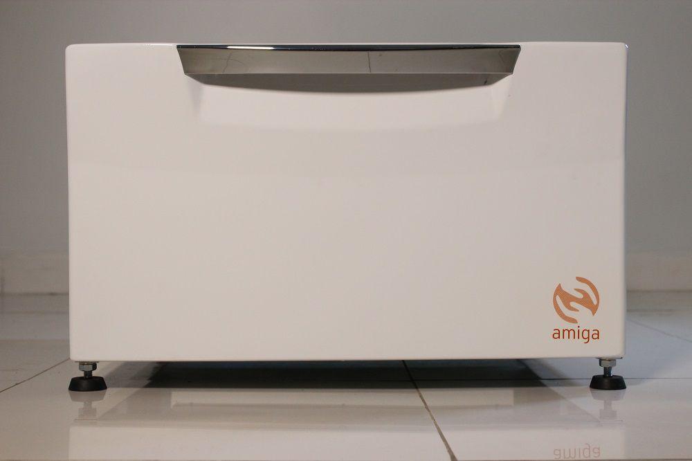 Pedestal Organizador Branco Lava e Seca LG 10,2Kg Amiga