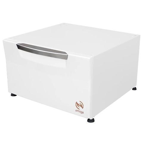 Pedestal Organizador Branco Lava e Seca SAMSUNG 10,1Kg - Amiga