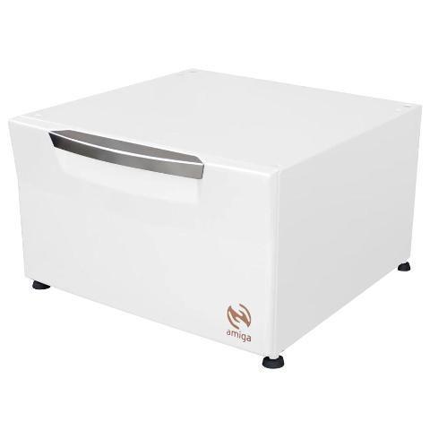 Pedestal Organizador Branco Lava e Seca SAMSUNG de 9,0Kg - Amiga