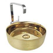 Cuba de Apoio Cerâmica Reno RC 20 Dourada - Lançamento!