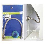 Engate Flexível Para Vaso Sanitário Reno