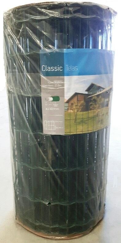 Tela Soldada e Revestida em PVC - 0,60 X 25 m