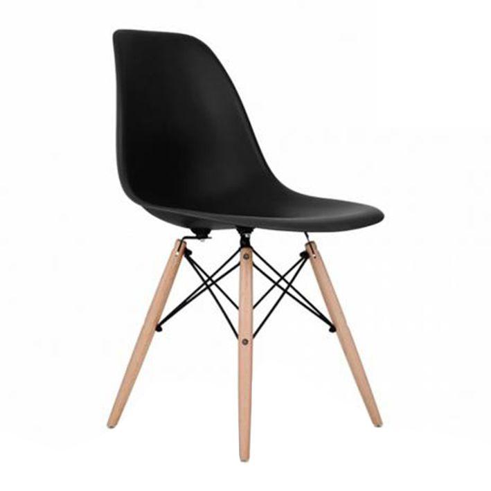 Cadeira Charles Eames Preta