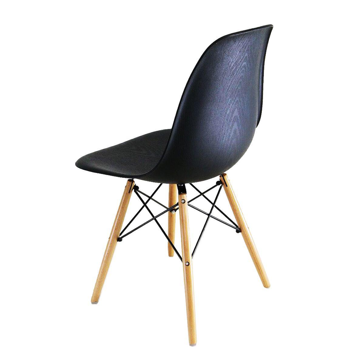Cadeira Charles Eames Eiffel Preta