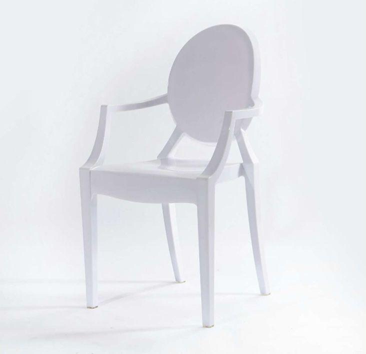 Cadeira Policarbonato Branca