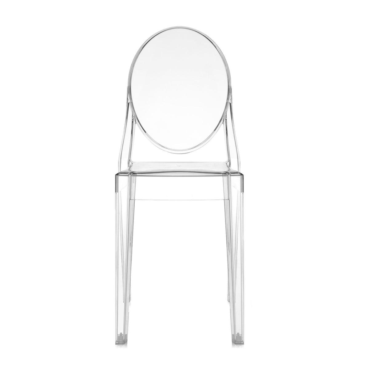 Cadeira Vitória Transparente