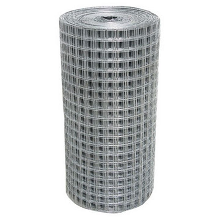 Tela Soldada - 0,50 x 25 m Fachada - Malha 2,5 x 2,5 cm
