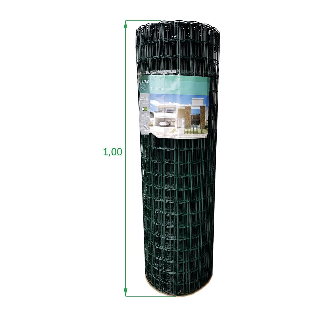 Tela Soldada e Revestida em PVC - 1,00 X 25 m 5x5