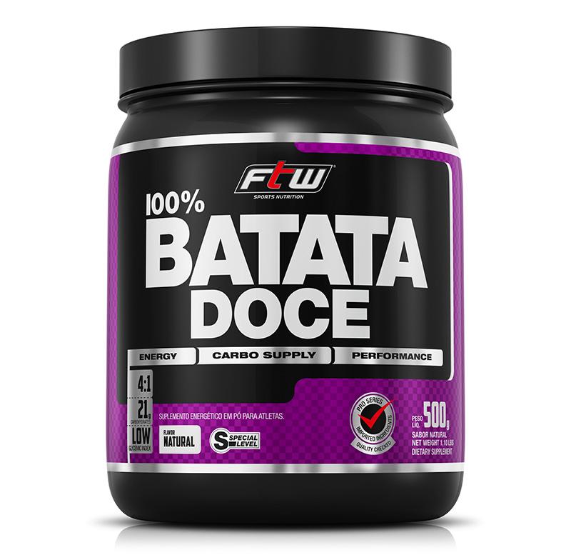 100% Batata Doce em Pó - FTW - Fitoway
