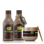 Escova Progressiva NATURALE - Orgânica - 300ml + Manteiga de Bambú NATURALE